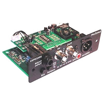 Presonus DDG 24/96 2 channel  Digital output card for Presonus VXP
