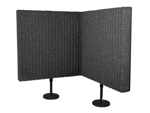 DeskMAX Panels w/ Floor Stands (2pack), Auralex
