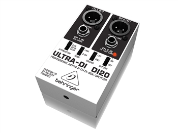 Behringer DI20 - Ultra-DI Active 2-Channel DI-Box/Splitter