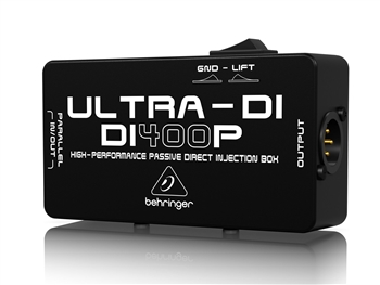 Behringer DI400P - ULTRA-DI High-Performance Passive Direct Injection Box