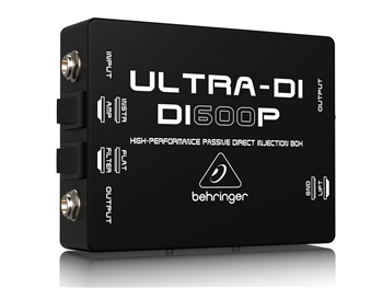 Behringer DI600P - ULTRA-DI High-Performance Passive Direct Injection Box