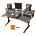 Sound Construction DS-HS/W DigiStation Home Studio desk - Cherry finish