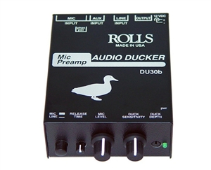 Rolls DU30b Mic Preamp/Audio Ducker