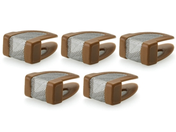DPA DUA0523C - d:fine Makeup & Moisture Protection Filter, Brown, 5 pcs.