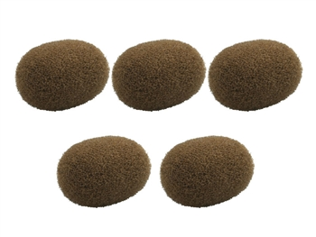 DPA DUA0531C - d:fine Windscreens 5 pcs., Brown