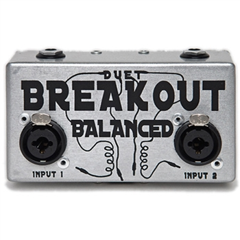 Duet Balanced Breakout box Tsound Pro