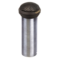 "Superlux E323B Black 1"" electret low profile flush-mount cardioid condenser boundary mic"