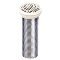 "Superlux E323W White 1"" electret low profile flush-mount cardioid condenser boundary mic"