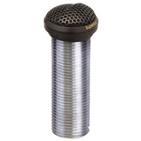 "Superlux E324B Black 1"" diameter electret low profile flush-mount omni condenser boundary mic"