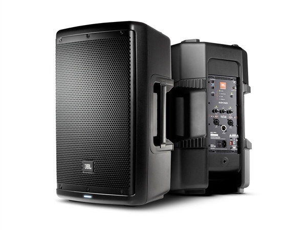 "JBL EON610 - 10"" two-way stage monitor or front of house powered speaker system"