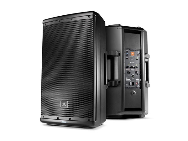 "JBL EON612 - 12"" two-way stage monitor or front of house powered speaker system"