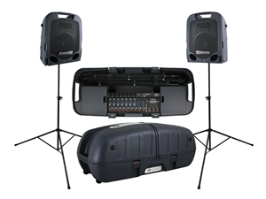 Peavey Escort 6000 - 2x 300W Portable PA with 9-Channel Mixer & Bluetooth Playback
