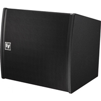 Electro-Voice EVA-2082S/1220-BLK, Dual-element 120ºx20º full-range line-array speaker, EVCoat, Black