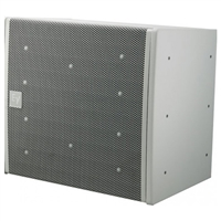 Electro-Voice EVA-2082S/126-FGW, Dual-element 120ºx6º full-range line-array speaker, Fiberglass, White