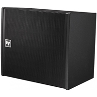 Electro-Voice EVA-2082S/906-PIB, Dual-element 90ºx6º full-range line-array speaker, EVCoat, PI-Weatherized, Black