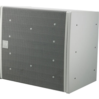 Electro-Voice EVA-2082S/906-PIW, Dual-element 90ºx6º full-range line-array speaker, EVCoat, PI-Weatherized, White