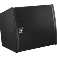 Electro-Voice EVA-2082S/920-PIB, Dual-element 90ºx20º full-range line-array speaker, EVCoat, PI-Weatherized, Black