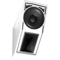 Electro-Voice EVI-12-WH, 12-inch two-way speaker, white