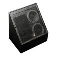 Electro-Voice EVI-28-BLK, Dual 8-inch two-way speaker, black