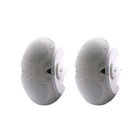 Electro-Voice EVID 4.2TW, Two-way speaker. Internal 70/100-volt line transformer. white (pair)