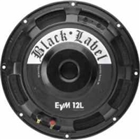 Electro-Voice EVM12L8OHMBLLABEL, Zakk Wylde signature guitar speaker, 12-inch, 300-watt, 8 ohms
