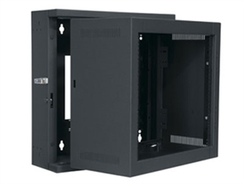 Middle Atlantic EWR-8-17 - 8 Space 17î Deep, Econo Sectional Wall Rack, Black