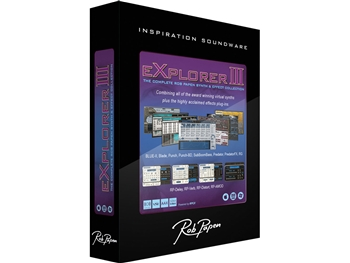 Rob Papen Explorer III Bundle Upgrade from Explorer II (Download license)