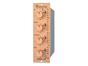 Fredenstein F603A - Mono High-Q four band Equalizer (Q=2) Module