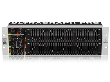Behringer FBQ6200, UltraGraph PRO, 31-Band Stereo Graphic Equalizer with FBQ Feedback Detection System