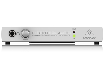 Behringer FCA202 - F-Control Audio 2in/2out FireWire Audio Interface