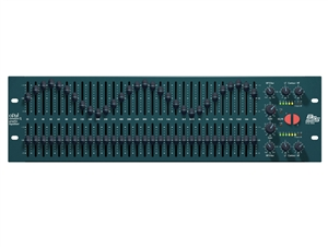 BSS FCS-966, 30 band graphic equalizer (2 channels)