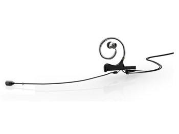 DPA FID88B34-IE1-B - d:fine 88 In-Ear Broadcast Headset Microphone, Black, 120mm Directional Boom, Single- Ear, Single In-Ear,  3.5mm Locking