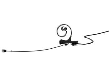 DPA FIDB10-IE1-B - d:fine In-Ear Broadcast Headset Microphone, Black, 120mm Directional Boom, Single- Ear, Single In-Ear, TA4F for Shure
