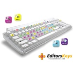 AskVideo FinalCut Key Command Keyboard Stickers