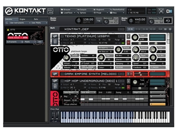 Fixed Noise OTTO - Virtual Instrument Plugin - Standalone