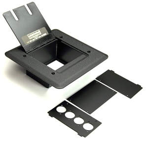Whirlwind FP-1, Floor Pocket Mounts 4WC Connectors