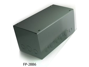 "Whirlwind FP-2BB6, Back Box for FP-2, 6"" Deep"