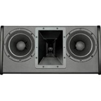 Electro-Voice FRI-2082-WHT, Dual 8-inch two-way low profile passive loudspeaker, white