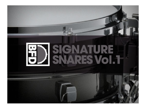 FXpansion BFD Signature Snares V.1 (Download)