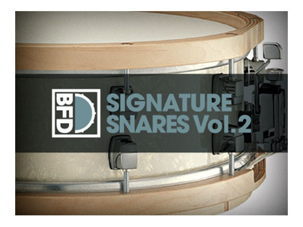 FXpansion BFD Signature Snares V.2 (Download)