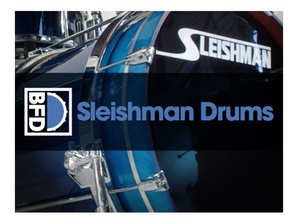 FXpansion BFD Sleishman Drums (Download)