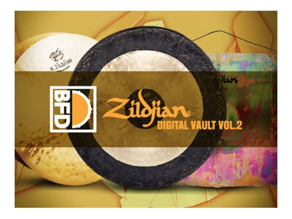 FXpansion BFD Zildjian Digital Vault Vol. 2 (Download)