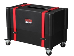 Gator G-212-ROTO, 2X12 Combo Amp Transporter / Stand; Molded Plastic