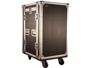 Gator G-TOUR 10X12 PU - 10U Top, 12U Side Audio Road Rack Case