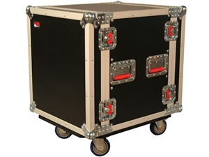 Gator G-TOUR 12U CAST - 12U, Standard Audio Road Rack Case w/ Casters