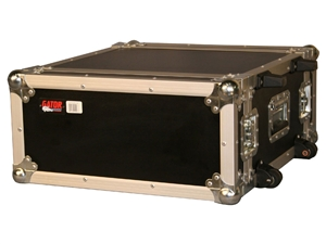 Gator G-TOUR 4UW - 4U, Standard Audio Road Rack Case, w/ Wheels
