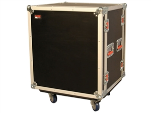 Gator G-TOUR SHK8 CAS - 8U Shock Audio Road Rack Case w/ Casters