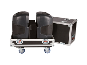 "Gator G-TOUR SPKR-215 - Tour Style Transporter for (2) 15"" speakers"