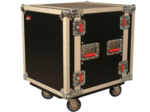 "Gator G-TOUR12UCA-24D - 12U, 24"" Deep Audio Road Rack Case w/ Casters"