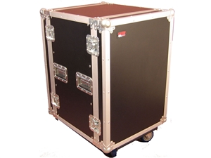 "Gator G-TOUR16UCA-24D - 16U, 24"" Deep Audio Road Rack Case w/ Casters"